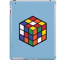 Rubik's Cube - Regular Body Black Large iPad Case/Skin