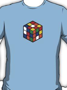 Rubik's Cube - Regular Body Black Large T-Shirt