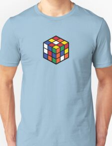 Rubik's Cube - Regular Body Black Large T-Shirt