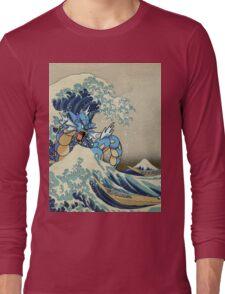 The Great Wave Off Gyarados Long Sleeve T-Shirt