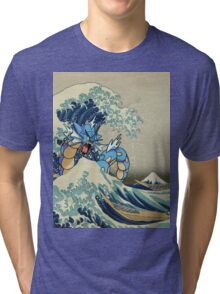 The Great Wave Off Gyarados Tri-blend T-Shirt
