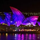 Panel Sails - Sydney Vivid Festival - Sydney Opera House by Bryan Freeman