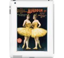 Aladdin Jr 4 - Strobridge - 1894 iPad Case/Skin