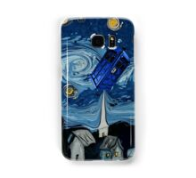 starry night tardis Samsung Galaxy Case/Skin