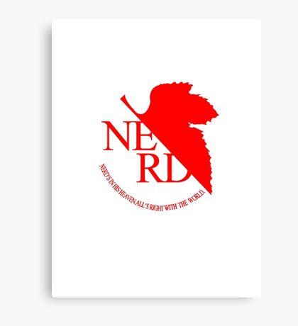 NGE NERD Canvas Print