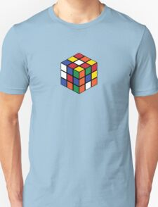 Rubik's Cube - Regular Body Black T-Shirt