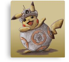 BB-kachu, gotta catch the droid you're looking for. Canvas Print