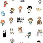 Studio Chibi Sticker Sheet by Steph Hodges