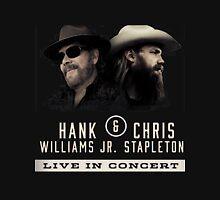 Hank Williams Jr & Chris Stapleton 2016 Unisex T-Shirt