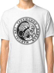 taekwondo beast dragon tiger ying yang korean made martial art sport kick shirt Classic T-Shirt
