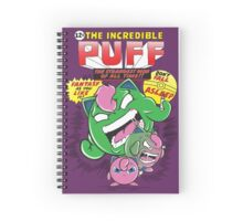 The Incredible Puff Spiral Notebook