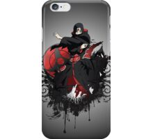 itachi grunge iPhone Case/Skin