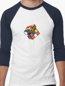 Rubik's Cube - Twisted Men's Baseball ¾ T-Shirt