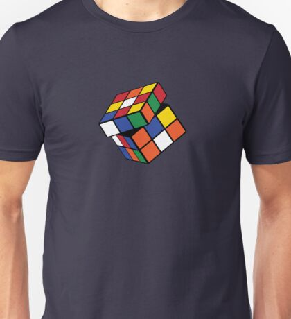 Rubik's Cube - Twisted Unisex T-Shirt