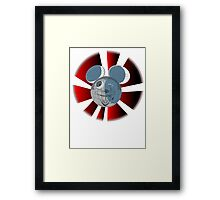 DARK MOUSE  Framed Print
