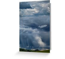 A Rainy Winters Afternoon Greeting Card