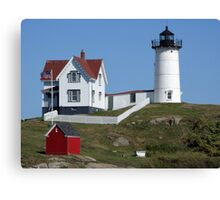 Nubble Light House in Maine Canvas Print