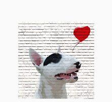 English Bull Terrier Banksy Style Unisex T-Shirt