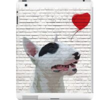 English Bull Terrier Banksy Style iPad Case/Skin