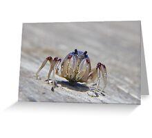 Super crab 01 Greeting Card