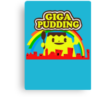giga pudding shirt Canvas Print