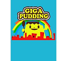 giga pudding shirt Photographic Print