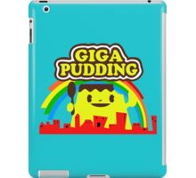 giga pudding shirt iPad Case/Skin