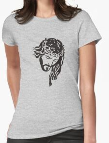 Jesus Womens Fitted T-Shirt