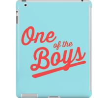 One of the Boys iPad Case/Skin