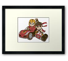 Super Ryu Kart Framed Print