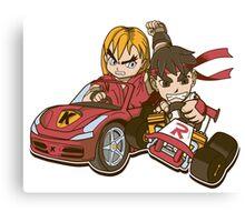 Super Ryu Kart Canvas Print