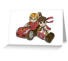 Super Ryu Kart Greeting Card