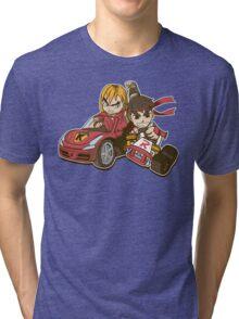 Super Ryu Kart Tri-blend T-Shirt