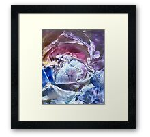 Time passage from a distant dream Framed Print