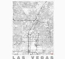 Las Vegas Map Line Unisex T-Shirt