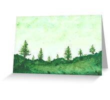 Trees For The Woods Greeting Card