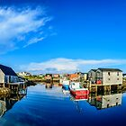 Calm Water at Peggys Cove by kenmo