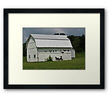 Decorated Barn Framed Print