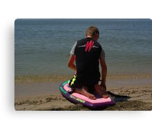 KNEE BOARDING3 Canvas Print