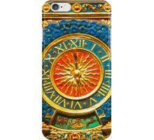 Ancient Gold Clock iPhone Case/Skin