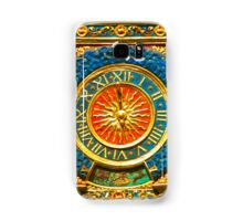 Ancient Gold Clock Samsung Galaxy Case/Skin