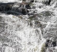 Cascading Falls Sticker