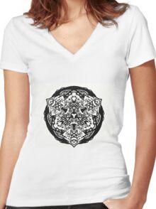 www.artherapie.ca T-shirt femme moulant col V