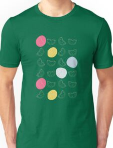 Cute pattern with watermelon   Unisex T-Shirt