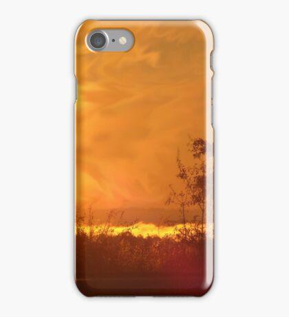 Fire in the sky iPhone Case/Skin