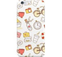 Cartoon traveling elements iPhone Case/Skin