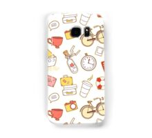 Cartoon traveling elements Samsung Galaxy Case/Skin