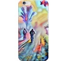 Riding Into the Morning Mist iPhone Case/Skin