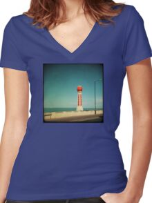 Lido Women's Fitted V-Neck T-Shirt