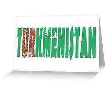 Turkmenistan Greeting Card